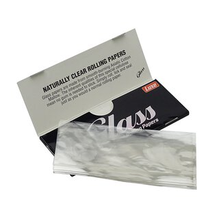 Luxe GLASS Cellulose Papers King Size 24 Hefte je 40 Blatt