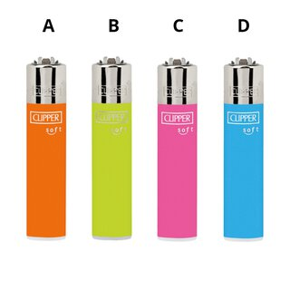Clipper UNI SOFT TOUCH NEON - Alle 4 Motive