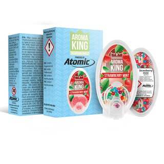 Aroma King - Aromakugeln  Strawberry Mint (Erdbeere/Minze)
