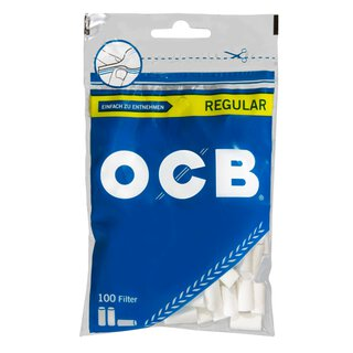 10 Stück OCB Filter Regular je 100 Filter