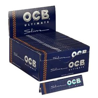 Box - OCB KS Ultimate Slim 50 Hefte je 32 Blatt